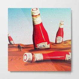 The Heinz desert Metal Print