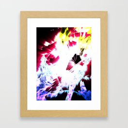Into the unknown Framed Art Print