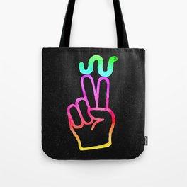 Peace Worm Tote Bag