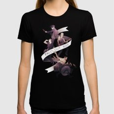 Poster Boys For Your Scene Womens Fitted Tee Black MEDIUM