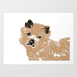 Cairn Terrier Dog Art Print