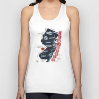 new jersey Tank Tops featuring NEW JERSEY by Christiane Engel