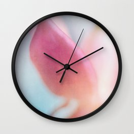 Fuchsia Wall Clock