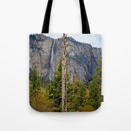 Tree In Yosemite Tote Bag