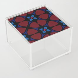 Stained glass Pattern Acrylic Box