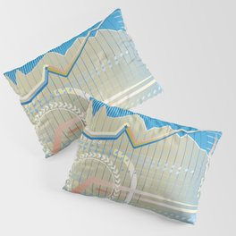 financial background Pillow Sham