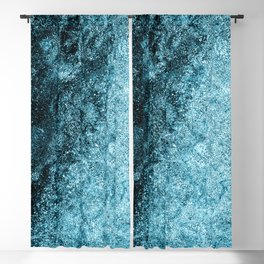 Frost Blue Ice Blackout Curtain