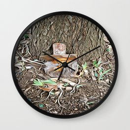 Spring Tease Wall Clock