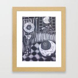 Webcam Watch Framed Art Print