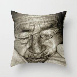 MY GRANDMOTHER Throw Pillow