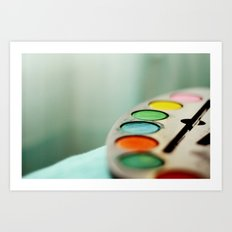 Colors* Art Print