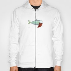 fish with beard Hoody