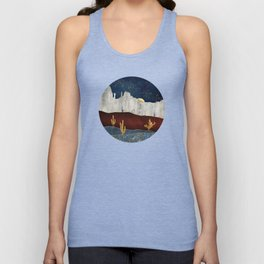 Moonlit Desert Unisex Tank Top