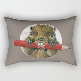 Pencilrodent Rectangular Pillow