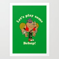 bebop Art Prints featuring Bebop by Giovanni Costa