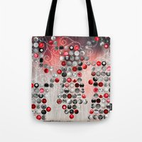 asian Tote Bags featuring Asian Lake by Eva Nev