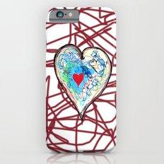scribble heart Slim Case iPhone 6s
