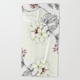 Pequi Flower Beach Towel