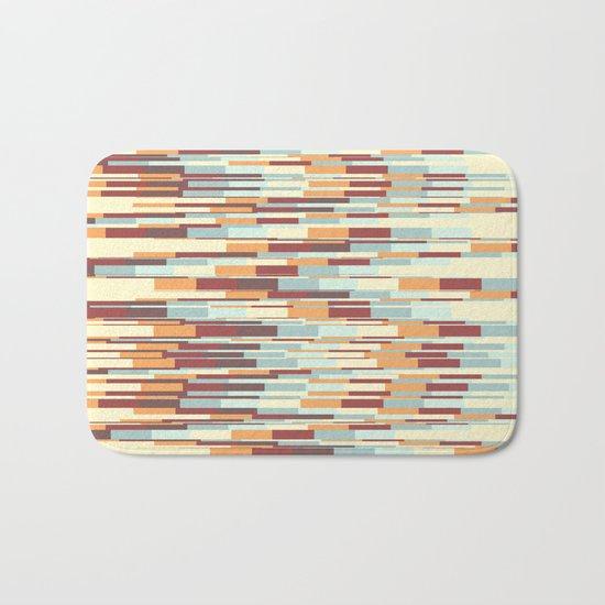 Abstract pattern 67 Bath Mat