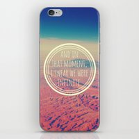 infinite iPhone & iPod Skins featuring Infinite by Josrick