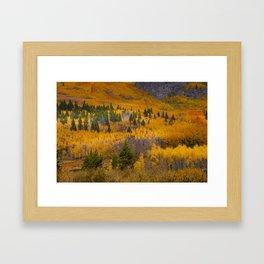 On Fire Framed Art Print