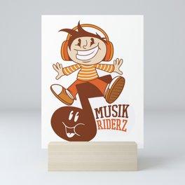 Musik Rider Mini Art Print