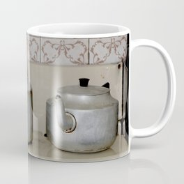 Teapot and kettle vintage stove top Kitchen equipment Coffee Mug