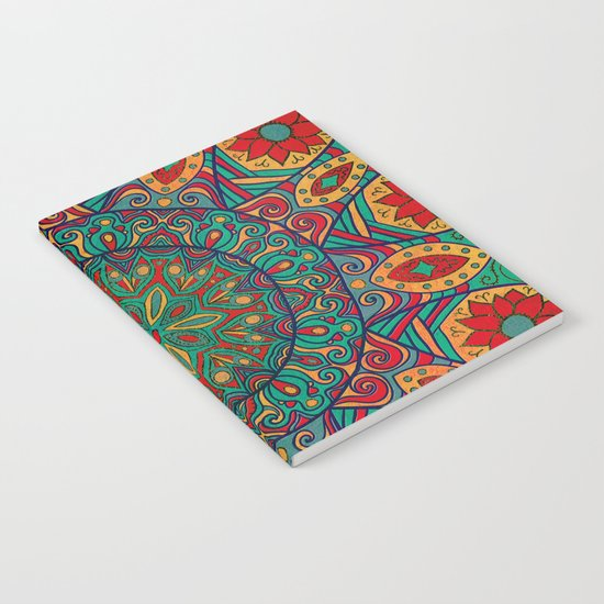 Tribal Mandala Notebook
