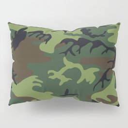 Army Camouflage Pillow Sham