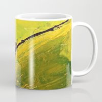 flight Mugs featuring Flight by RvHART