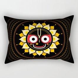 Lord Jagannatha. Rectangular Pillow