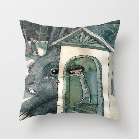 re:1 Throw Pillow