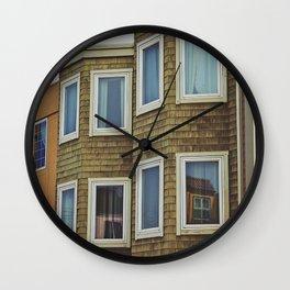 San Francisco Neighbors Wall Clock