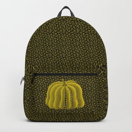 Kusama Yellow Pumpkin (High Quality) Backpack