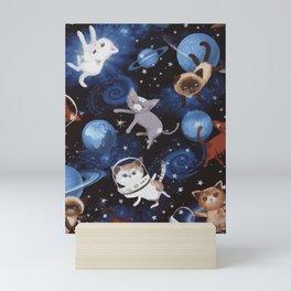 Cat Space Mini Art Print