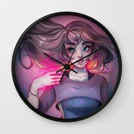 Bonfire Spell Wall Clock
