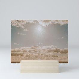 summer sky Mini Art Print