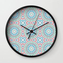 Tiles OOO Wall Clock