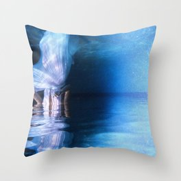 UNDERWATER GODDESS DREAMING  Throw Pillow
