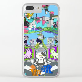 Splatoon Clear iPhone Case