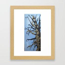 Copper Moss Framed Art Print