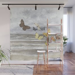Butterfly escape Wall Mural