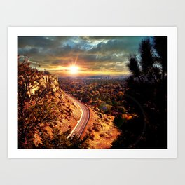 Billings Montana 2 Art Print