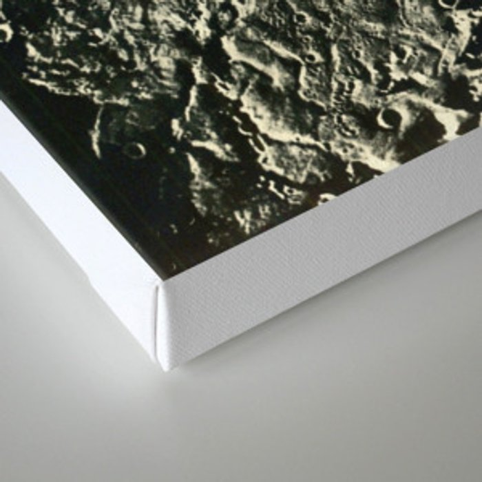 the space between Canvas Print