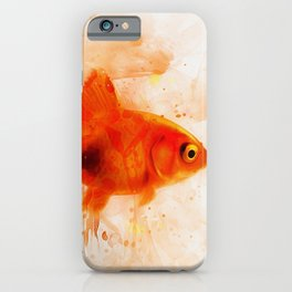 Ryukin Goldfish iPhone Case