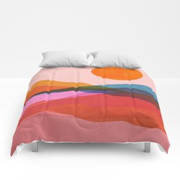 Abstraction_OCEAN_Beach_Minimalism_001 Comforters