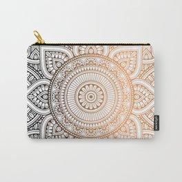 Gold Bronze Mandala Pattern Illustration Carry-All Pouch