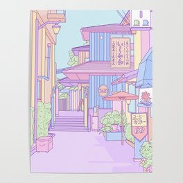 Continuously Lost in Japan Poster