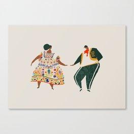 Méjico lindo Canvas Print