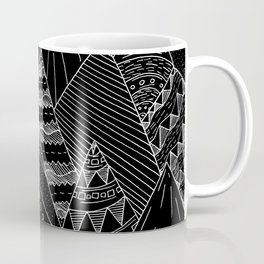 White line mounts Coffee Mug